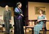 Mort Paterson as Inspector Goole,  Carol Thompson as Sybil Birling & Tammy Goldberg as Sheila Birling