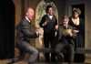 from left:  Ken Ammerman as Sir Andrew,  Chris Capitolo as Fabian,  George Hartpence as Sir Toby & Susan Fowler as Maria