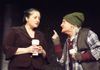 David Burr as the Soothsayer with Kyla Mostello-Donnelly as Portia