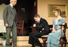 from left: Mart Paterson as Inspector Goole  Tom Smith as Eric Birling  Tammy Goldberg a Sheila Birlin
