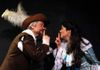 George Hartpence as Cyrano and Carol Thompson as Roxanne