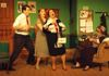 from left: John Bergeron (Paul), Tess Ammerman (Roz), Carol Thompson (Charlotte), Cheryl Doyle (Ethel)
