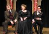 from left:  George Hartpence as Sir Toby,  Susan Fowler as Maria & Chris Capitolo as Fabian