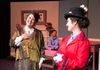 Carol Thompson (left) as Winifred Banks & Liz Rzasa (right) as Mary Poppins & Dylan Katz (rear) as Michael Banks