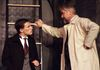 EvanO'Rourke as Stephen and George Hartpence as Andrew Undershaft
