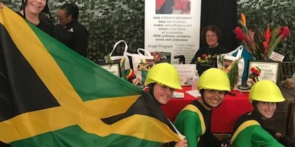 Cool Runnings Jamaican Bobsled Team for representing Back to Basics at the Great Charity Challenge!