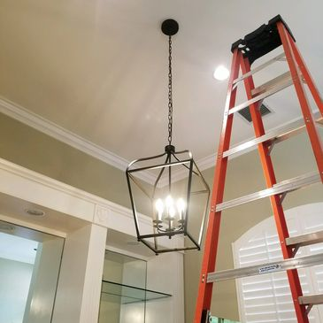 Lighting up the world! One customer at a time   Panel changes, lighting, electric, electricians. Naples , Bonita Springs, Fort Myers, Lee County, Collier County, commercial, residential, construction, Florida, SWFL, Southwest Florida.