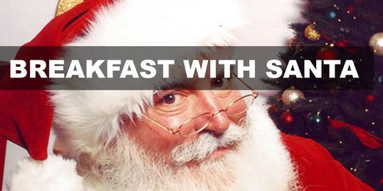 Breakfast with Santa Mississauga 2018 Christmas Kids Brunch