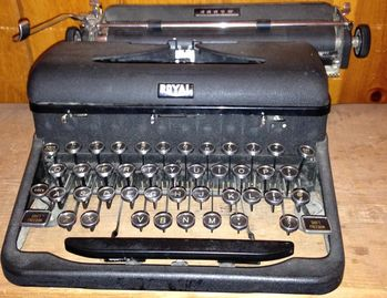 Vintage Royal typewriter.