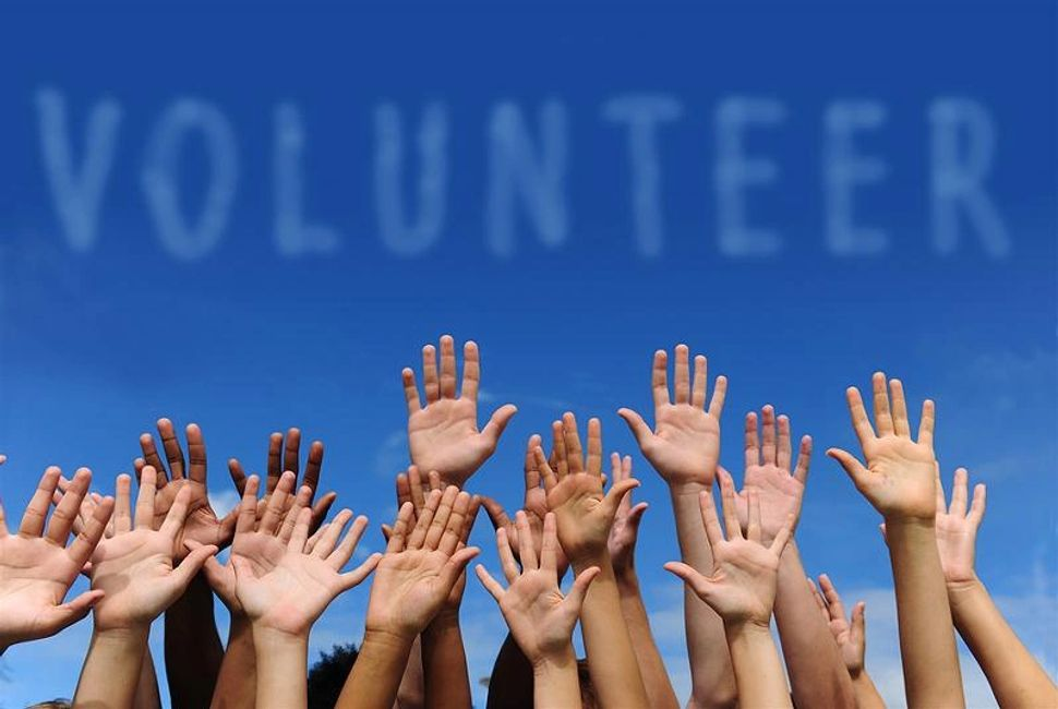 A show of hands to volunteer