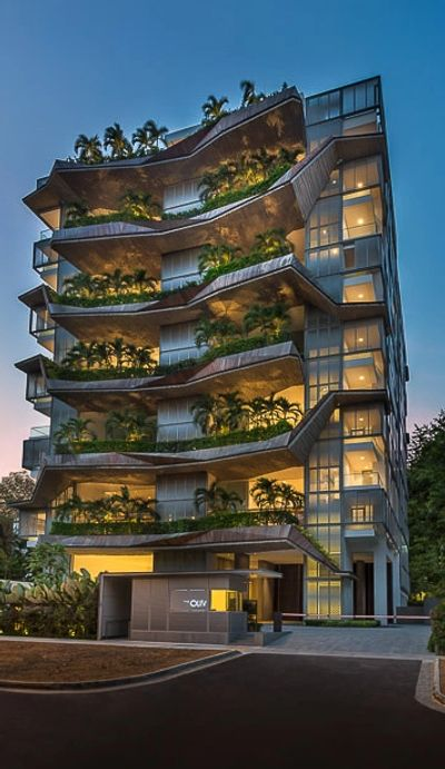 The OLIV Singapore - Best nature penthouse Luxurious 4 bedroom condo Apartmenmt.