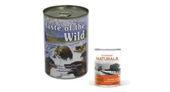 Canned Canine Feline Soft Food Taste of the Wild Diamond Naturals