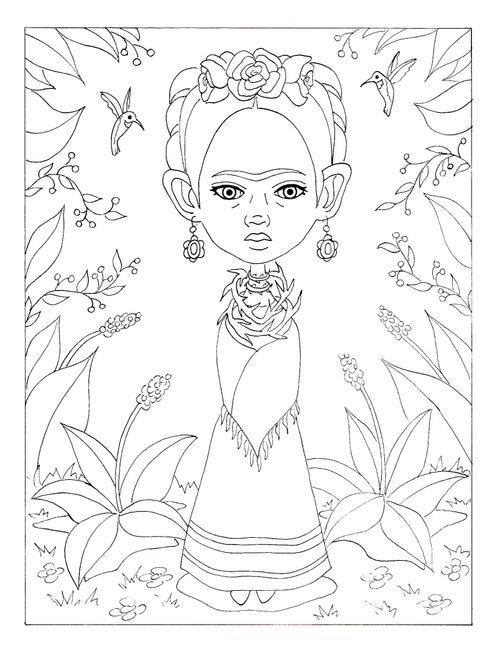 The Terri Woodward Frida Art Challenge