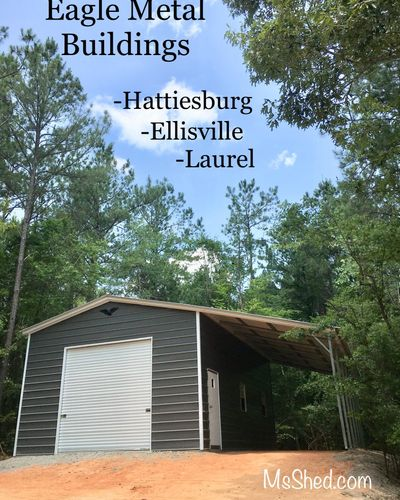 Portable Buildings / Storage Sheds in Hattiesburg - MS Shed