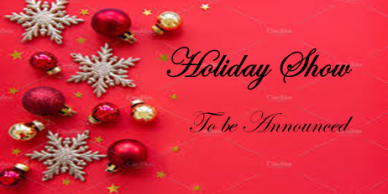 Holiday Show - performances December 3-12