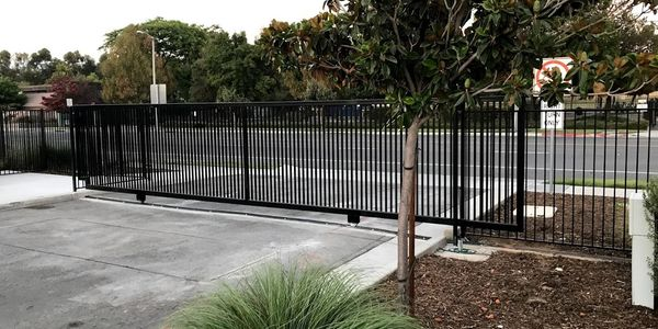 We offer commercial gates and fencing as well.