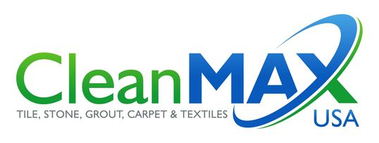 Clean MAX USA Logo carpet cleaning tile and grout cleaning