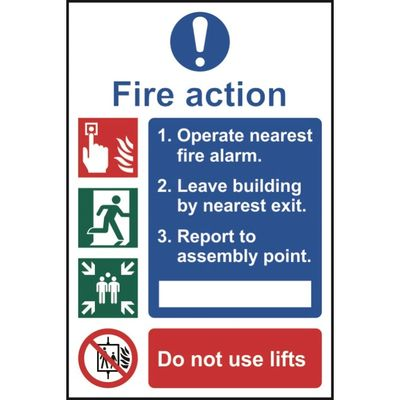 Fire Safety Signs, Signage Milton Keynes Bedford Luton Bedfordshire Hertfordshire Buckinghamshire