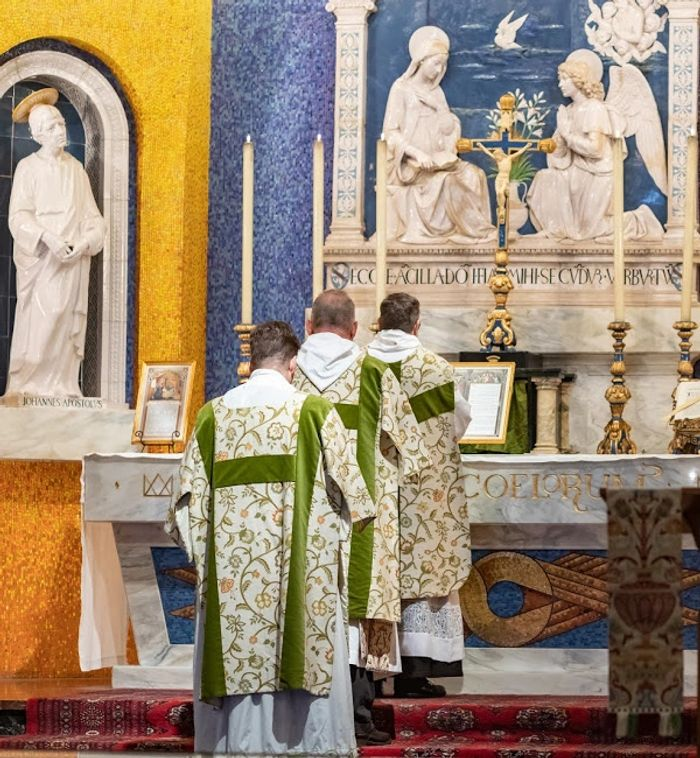 High Mass at St Mary of the Angels 2019