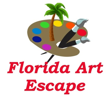 Florida Art Escape : Paint Parties by Rita!