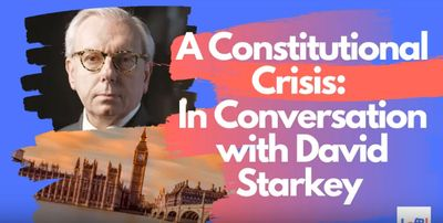 "Speaker event- Dr David Starkey- ""Sold, Denied, Delayed- Magna Carta betrayed"""