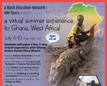 Virtual Tour of Ghana with ABEN and Debra Watkins