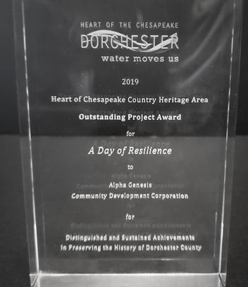 Dorchester County Project of the Year award