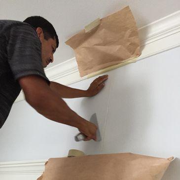 Drywall Repair Near Me   Mr  Drywall Houston