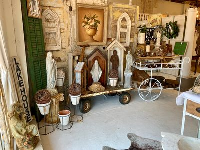 Rusty Rooster antique village gift shop Denham Springs LA