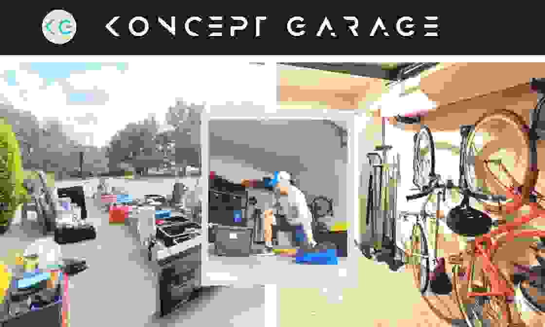 Koncept Garage move-in cleanout service