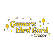 Gamerz Yard Card Decor