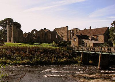 Finchale Priory on the banks of the River Wear between Durham City and Chester-le-Street.