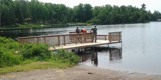 Handicap Accessible Pier for Boating & Fishing