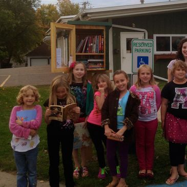 Girl Scouts - Little Free Library