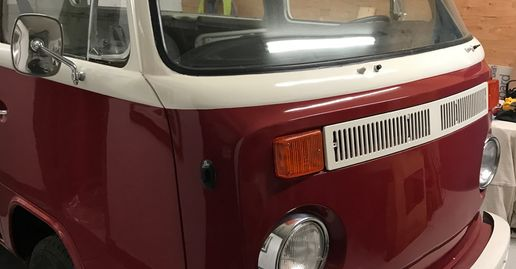 VW Bus Baywindow Westy Camper restore
