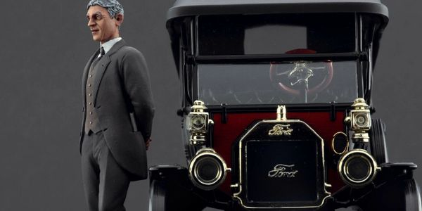1/18 Scale Henry Ford Figurine