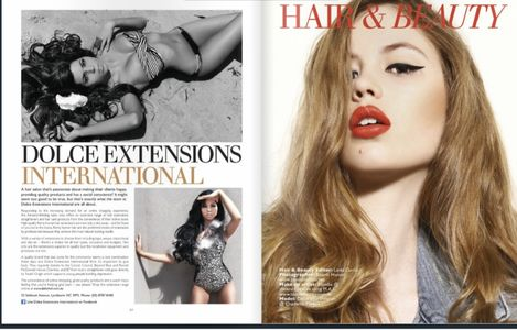 Featured in Fashion magazines across Australia