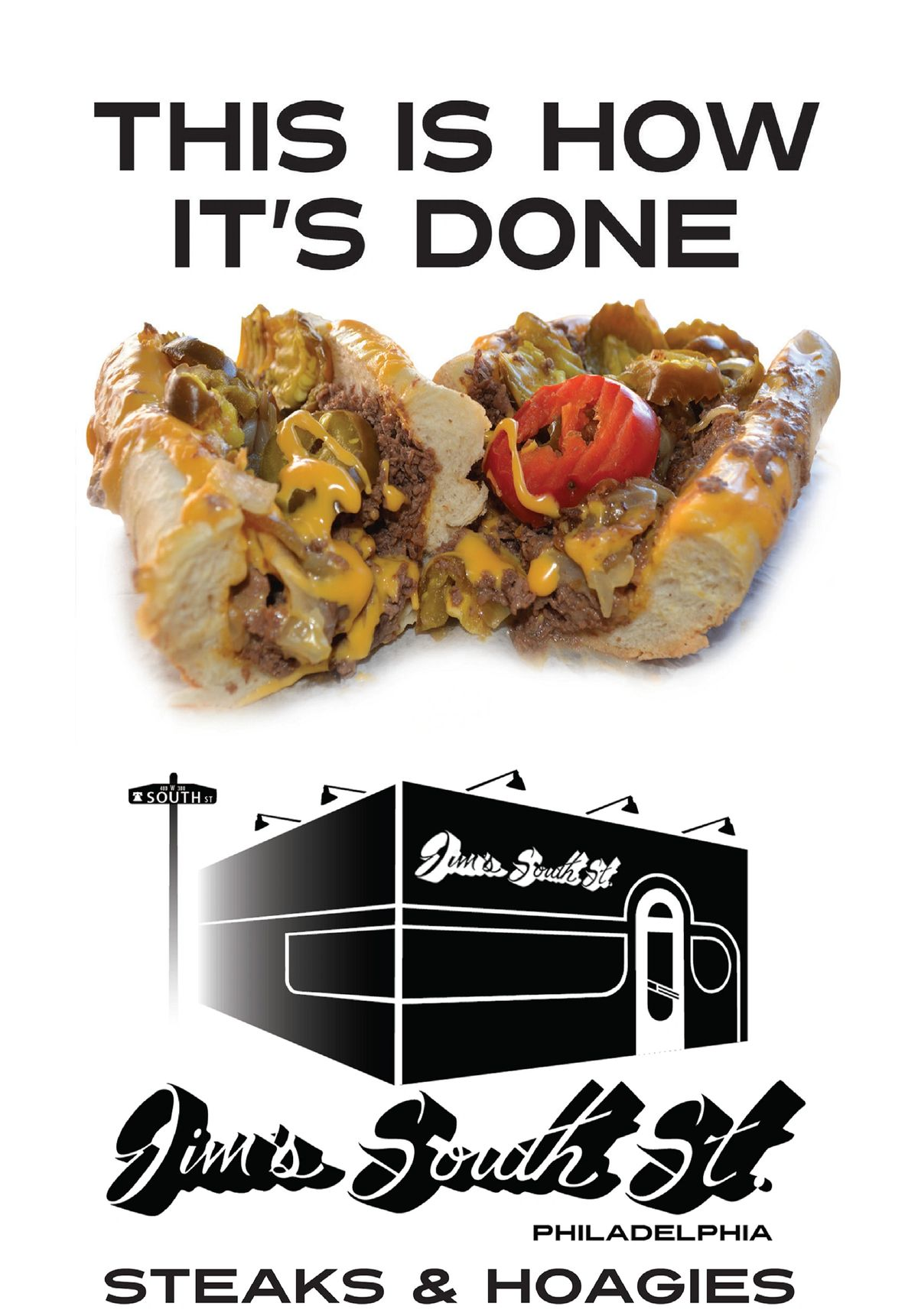 Cheesesteak, Jim's Steaks South Street, Jims's South St. #thisishowitsdone