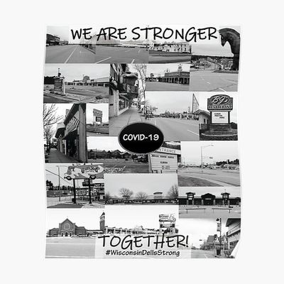 Wisconsin Dells Strong Poster