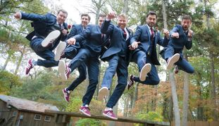 Wedding Photograph, Groom, groomsmen, outdoor wedding, Delaware