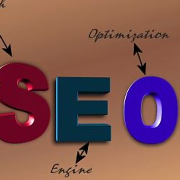 image with the words search engine optimization