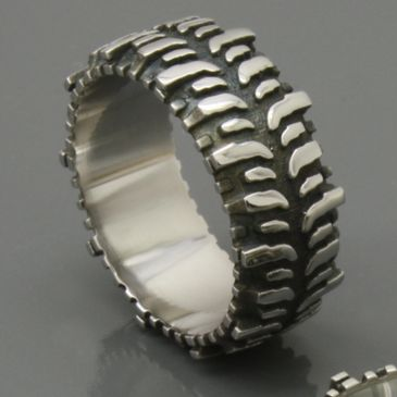 Cobalt Swamper Bogger Tire Ring. Official, original copyrighted design