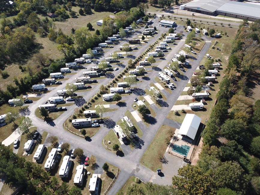 Fernbrook RV park longview texas