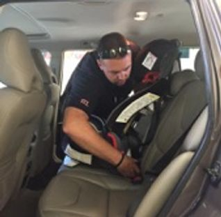 Tiverton Fire Department Has A Car Seat Technicians Available To Instruct Drivers On The Proper Installation Of Child Restraint Systems At No Cost
