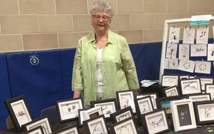 one of our vendors - Marg from Pebbles Rock