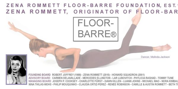 Zena Rommett Floor-Barre Foundation preserves & promotes the highly regarded Floor-Barre® Technique