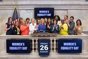 August 26 | Women's Equality Day at the New York Stock Exchange