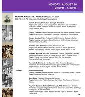 July 25 | Program of The 2020 Seneca Falls Revisited Conference