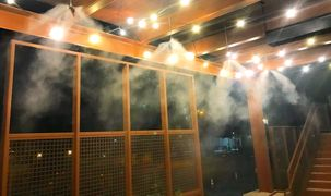 Precision Mist Systems are an excellent way to extend and cool your restaurant patio area.