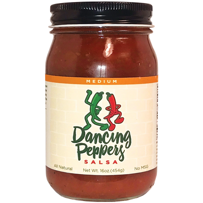 Dancing Peppers Medium Salsa